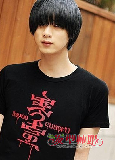 男生长发发型都怎么弄 圆脸男生长发发型(3)