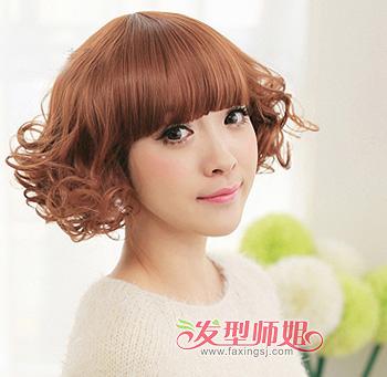 2015荷花头背面发型 荷花头发型适合的脸型(3)图片