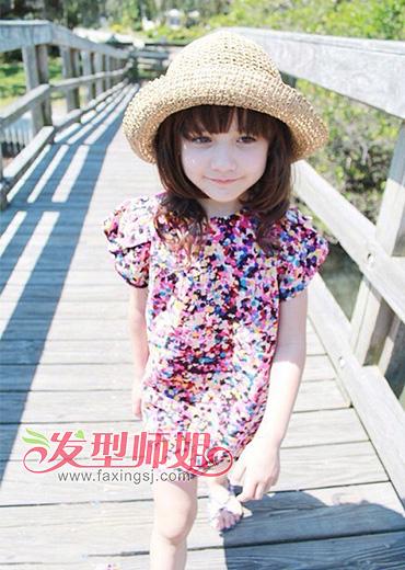 韩式儿童发型大全 儿童发型图片短发女