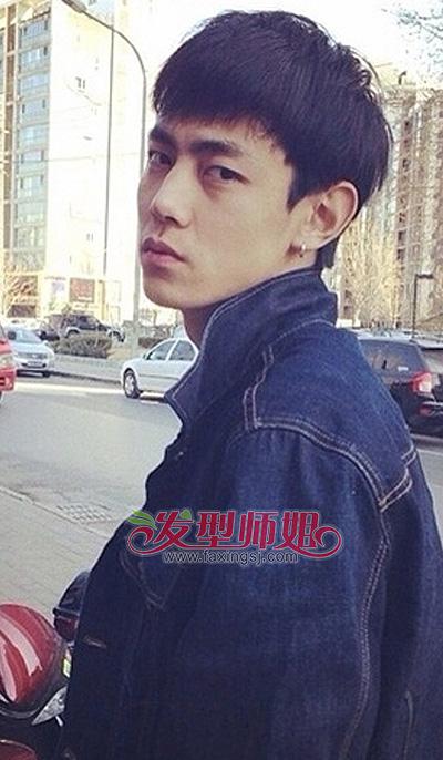 男生瘦脸适合什么发型 适合瘦脸型的头发(4)图片