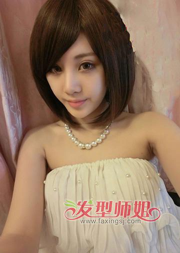 沙宣头短发女发型图片 沙宣头发型女生 发型师姐