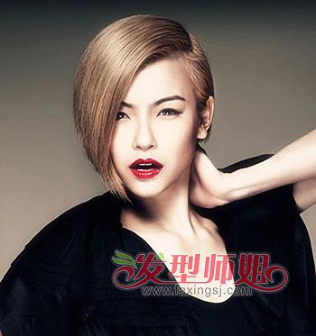 适合普通人的沙宣头发型 中分沙宣头发型图片 发型师姐
