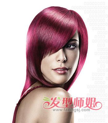 适合普通人的沙宣头发型 中分沙宣头发型图片 5