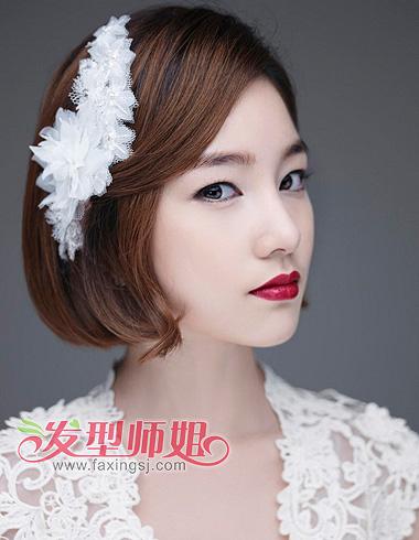 长脸低额头女生适合的发型 低额头长脸发型图片