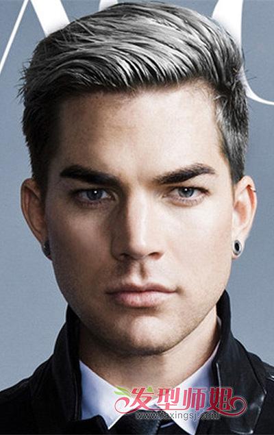 男方脸适合的发型图 长方脸脸男生适合的发型图片图片