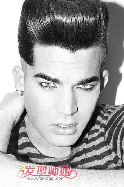 男方脸适合的发型图 长方脸脸男生适合的发型图片 发型师姐