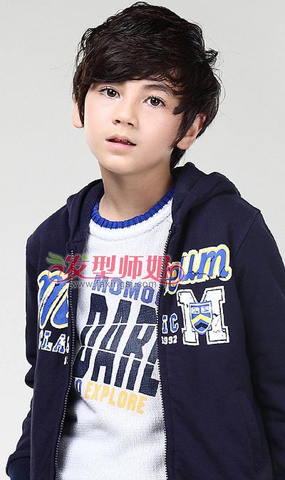 2015男儿童发型 男孩短发儿童发型图片