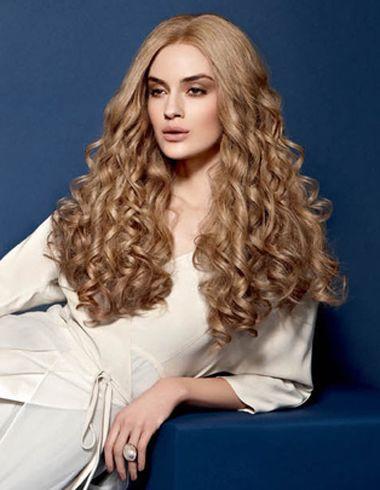 015年最流行小卷发型 女生小卷长发发型图片 发型师姐