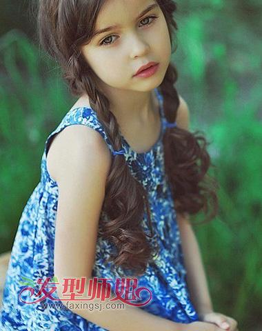 五六岁宝宝的编头发 简单好看的编头发步骤 发型师姐