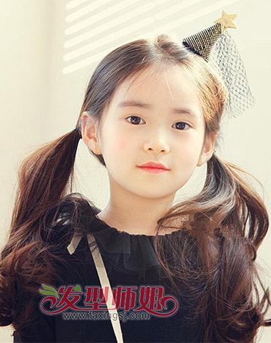 发型设计 儿童发型 >> 韩国女童星郑元熙扎发发型 解析适合11岁小女孩图片