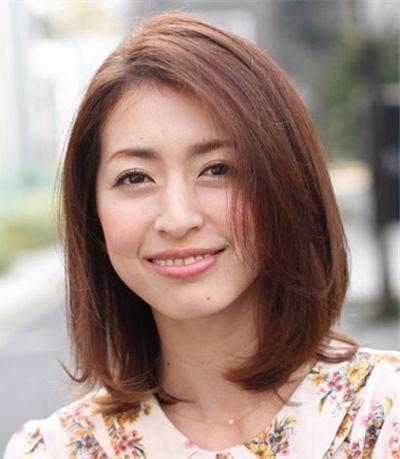 四十岁圆脸短发发型图片 中年人发型做法(2)图片