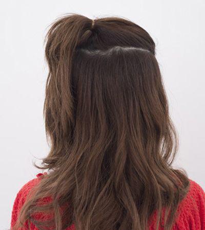 长头发怎么绑丸子头 丸子头发怎么扎好看图片