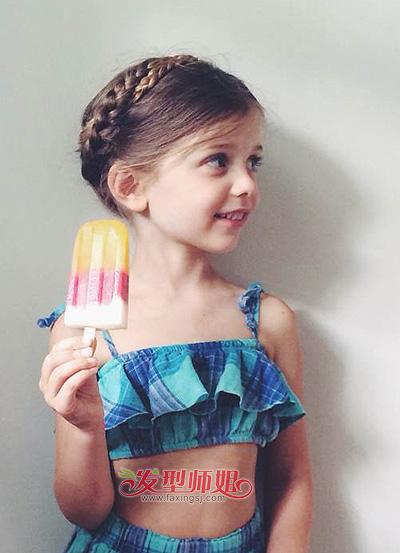 2015儿童发型女 儿童发型造型种类(2)
