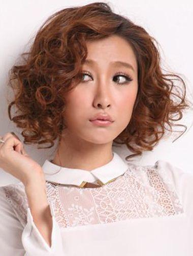 短发螺旋烫发发型_短发螺旋烫图片 螺旋烫短发图片(4)_发型师姐