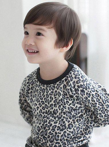 小男孩短发发型 小学男生刘海发型 发型师姐