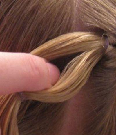 女儿童辫发发型 好看又简单的儿童发型图片