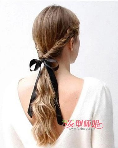 上班族如何编头发 上班族女生头发怎么绑好看图片
