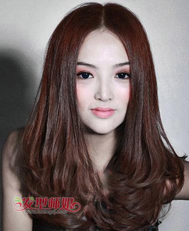 中分多发量梨花头-头发多可以剪梨花头吗 长头发梨花头卷发图片 发型图片