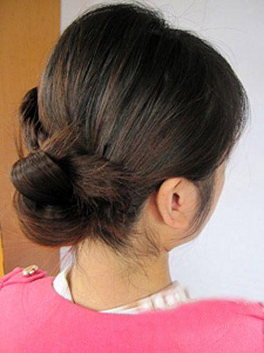 好看的儿童发型扎发 小女孩编发教程(5)