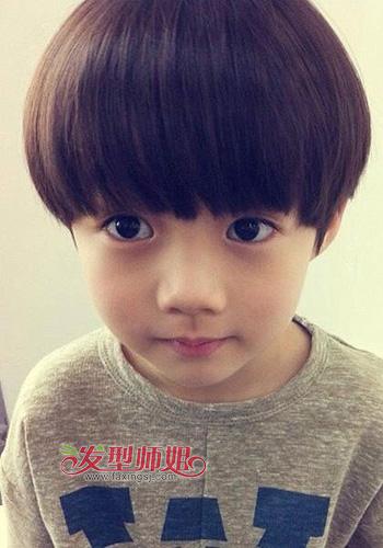 男儿童发型设计韩版 流行美儿童发型图片