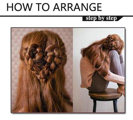 怎样编头发好看步骤 简单的编头发图解(5)