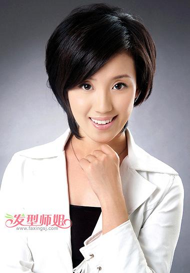 中老年短发发型图片 各种中老年发型设计方案