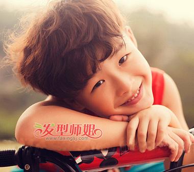 2015儿童发型图片大全 韩国男孩发型图片图片