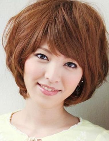 方脸型适合烫什么发型 方脸短发烫发发型 发型师姐