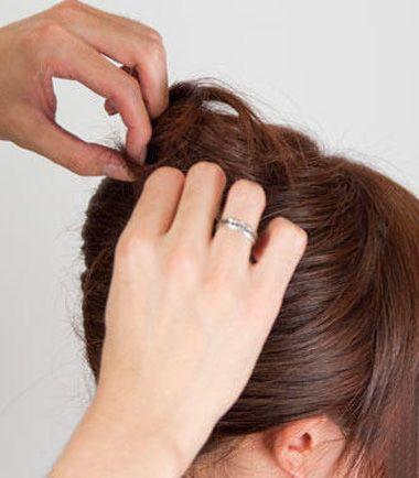 职场中年女士盘发 职场女性怎样盘发(7)图片