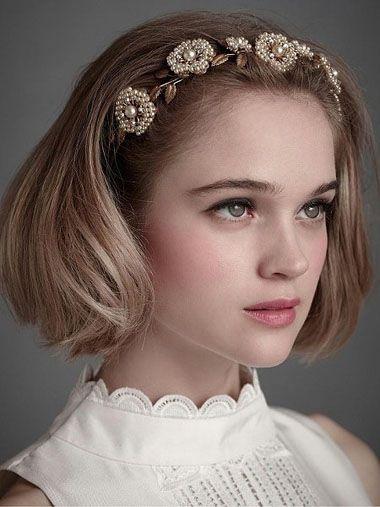 本期小编推荐几款欧美女童的简单公主发型,巧妙扎发造型,塑造你的矮人图片
