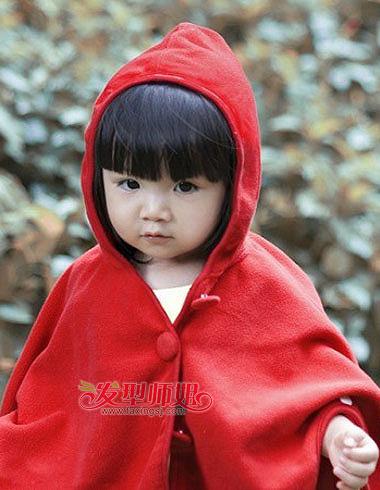 儿童短发发型图片 小女孩发型设计方法(2)