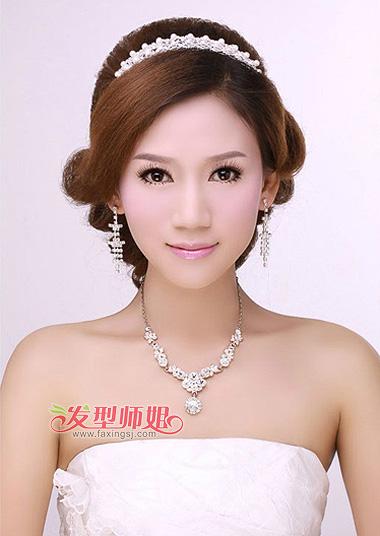 2015年新娘韩式发型图片 影楼韩式发型步骤图图片