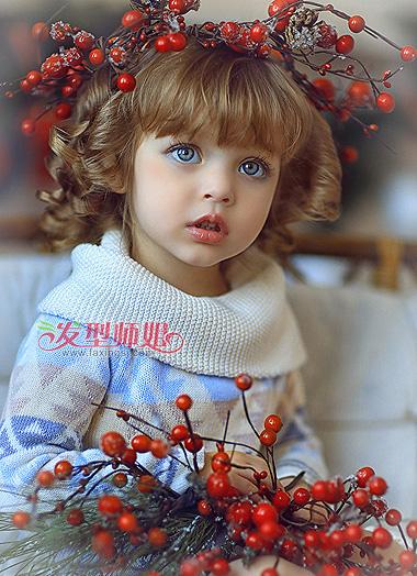 女幼兒發型圖片 小女孩發型圖片大全