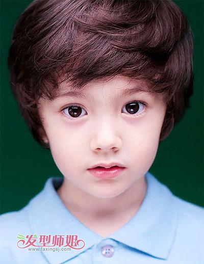 2015男孩儿童发型图片 竖