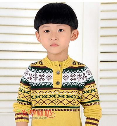 2015男孩儿童发型图片