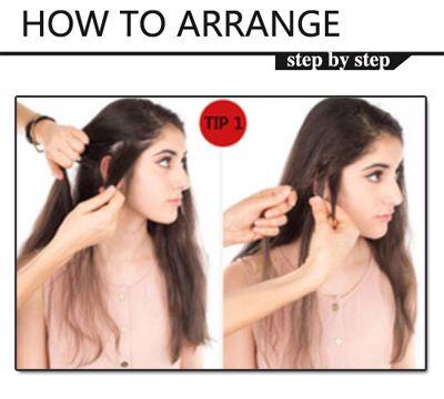优雅可爱女生编发发型 女生发型编发步骤图解图片