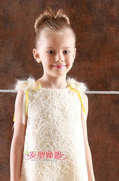 5岁儿童发型扎法 女孩儿童发型设计图片(2)