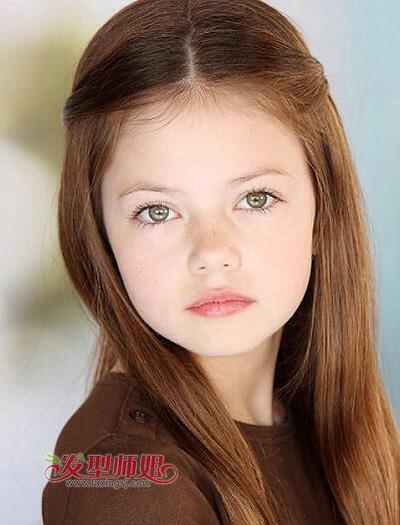 儿童发型女图片 儿童简单发型图片女孩(3)