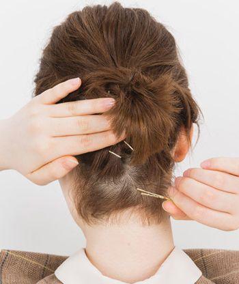 扎短头发简单又好看图解 教扎短头发好看还简单(3)图片