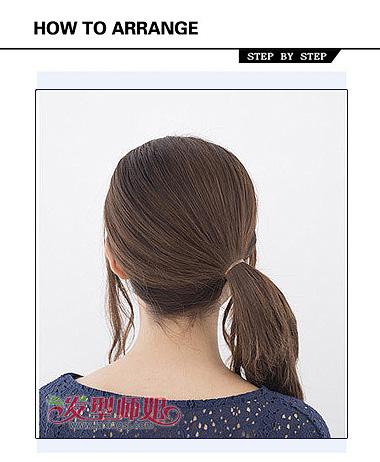 女孩包包头怎么扎 包包头的扎法最简单的