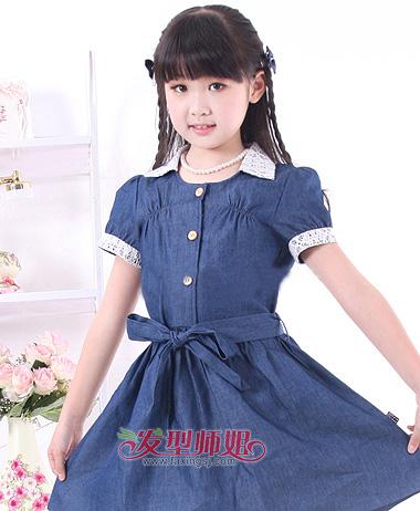 韩版女童连衣裙,打造美丽小公主