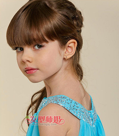 2015小学最新可爱发型小学生可爱英才扎法(2)发型街儿童图片