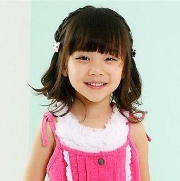 女儿童发型图片 儿童发型编发发型图片
