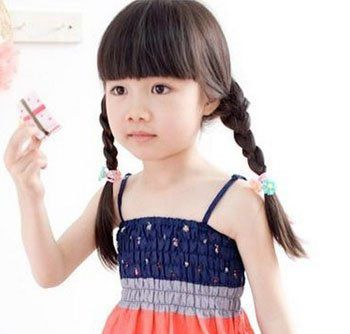 女儿童发型图片 儿童发型编发发型