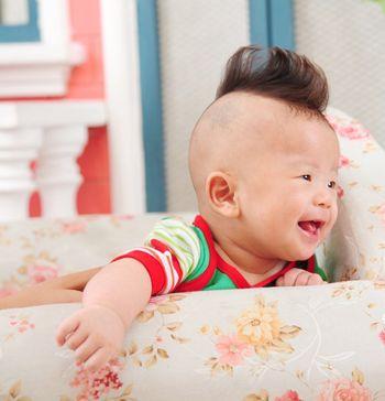 儿童可爱发型短发 婴儿可爱发型图片