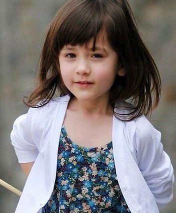 韩版儿童短发发型 女孩短发发型图片
