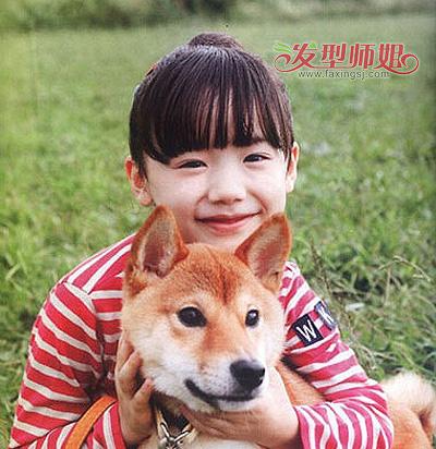 小孩的包包头怎么扎 儿童短发怎样扎包包头(4)