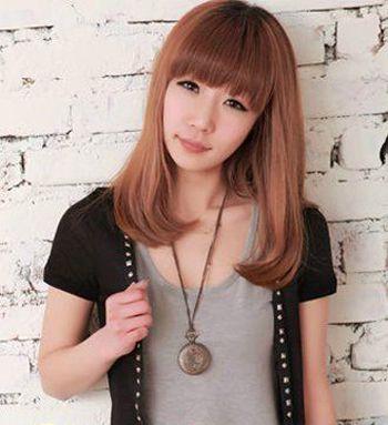 齐刘海梨花头好看吗 齐刘海梨花头发型图片(4)图片