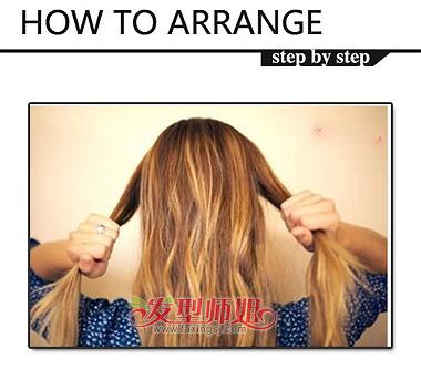 长发扎发 >> 女高中生可爱发型步骤 女生怎么扎可爱发型  还在上学的图片