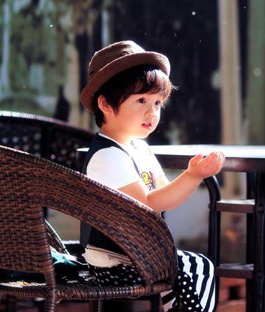 男孩子幼儿发型图片 日本幼儿发型(2)